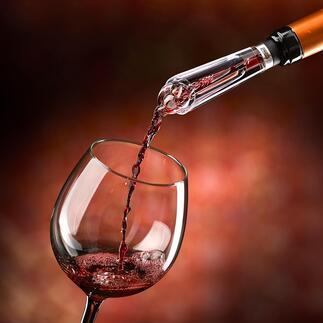 Wijndecanter AIROVIN '... laat de wijn merkbaar ademen, wat te zien is en te proeven' – zo luidt het oordeel van Haus & Garten Test (editie 4-2020).