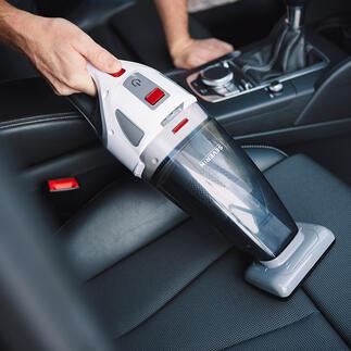 S'Power® kruimeldief HV7146 Zuigt nat en droog vuil op. Inclusief speciale roterende turboborstel voor meubelen en autostoelen.