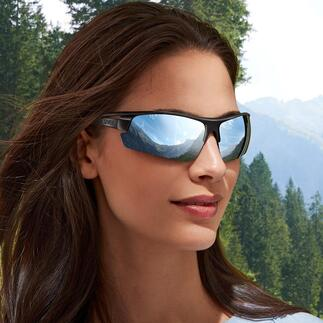 uvex bril Sportstyle Ocean P Sportief, stijlvol en milieubewust. Duurzaam en met efficiënt grondstofgebruik gemaakt van gerecyclede visnetten.
