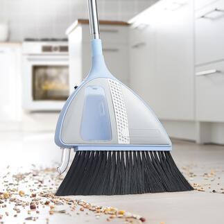 Bezem met accu en zuigfunctie Praktisch en comfortabel: in no time een schoongeveegde vloer. Zonder stoffer en blik en zonder uw rug te belasten.