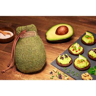 AvocadoSock® Eindelijk: perfect gerijpte avocado's. Gelijkmatig en zonder bruine plekken.