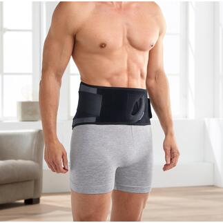 3-in-1 rugband Lumbotherm® 3-voudige werking: stabiliseert, masseert en geeft naar wens warmte af. Geheel zonder elektriciteit en snoeren. Een weldaad en overal te gebruiken.