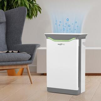 MAXXMEE krachtige luchtreinigerH14 Professionele filtertechnologie voor een nagenoeg bacterie- en allergeenvrije omgevingslucht. Voor een aantrekkelijke prijs.