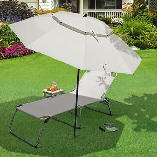 Windpro parasol Mooi groot, stabiel en verrassend voordelig.