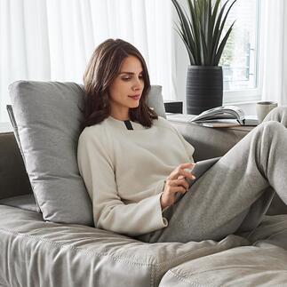 Bullfrog®tweewegbankkussen Ingenieus tweewegkussen dat moderne zitlandschappen nog comfortabeler maakt, binnen en buiten.