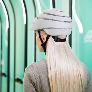 Fietshelm Closca™LoopReflective De betere fietshelm: aerodynamisch, veilig en opvouwbaar.