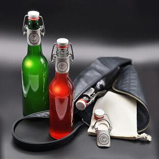 FlessenstopClyp Sluit net zo goed als een originele kroonkurk: flessenstop Clyp. Ideaal voor onderweg. En een milieuvriendelijke oplossing voor dranken to go.