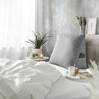 Bedzitkussen In bed zitten, lezen, tv-kijken en ontbijten was nog nooit zo comfortabel.