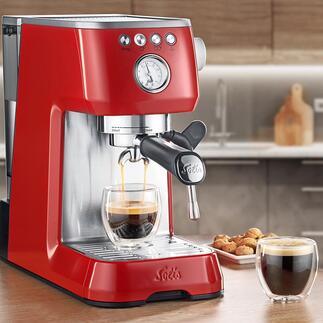 SolisBaristaPerfettaPlus De technologie van professionele espressomachines, maar dan in een ultracompact formaat.