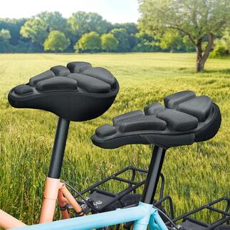 SoftAirSeat Bike Nooit meer last van zadelpijn tijdens het fietsen. Deze zadelhoes met luchtvering absorbeert druk en dempt schokken.