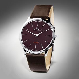 JM Nano 3900μ horloge Slechts 27 g licht en 3 mm dik, maar toch een perfect voorbeeld van Zwitserse precisie.
