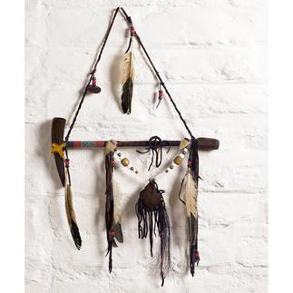 Navajo vredespijp Fascinerende getuigenis van Indiaanse cultuur Ieder exemplaar een unicaat. Met echtheidscertificaat.