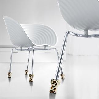 Wukies stoelsokken, 4-delig Fluwelen pootjes voor uw stoelpoten.