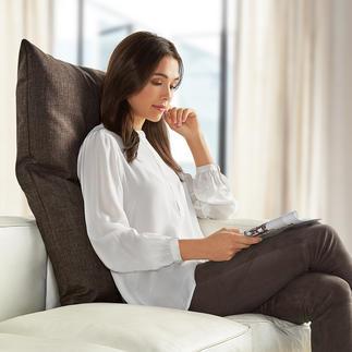 Bullfrog® rugkussen Maakt moderne zitmeubelen nog comfortabeler. Met comfortabele vulling en 16-voudig verstelbaar hoofddeel.