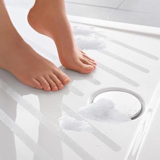 Satho® antislipstrips, set van 10 Voor douche en bad. Zelfklevend. Vrijwel onzichtbaar.