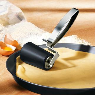 Deegroller Deeg uitrollen – direct op het bakblik. Ook in ronde bakvormen.