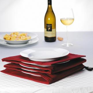 Bordenwarmer Met heet eetoppervlak en handwarme randen. Voor max. 8 grote (pasta)borden.