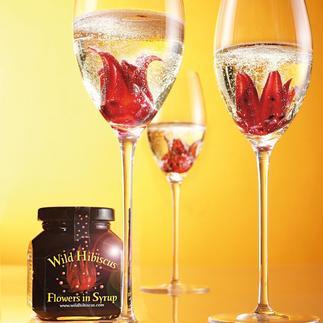 'Wild Hibiscus Flowers' in siroop, set van 2 Verwen uw gasten met de trendy cocktail uit beroemde bars.