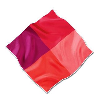Ascot pochet van zijde-twill De met de hand gerolde pochet van fijne zijde-twill: soepel en stevig. Bijzonder briljante kleuren.