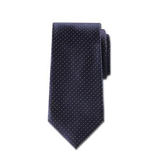 Zijden stropdas van Ascot 'kaviaarstippen' Kaviaarsttippen: waarschijnlijk het meest elegante en aanpasbare stropdasmotief.