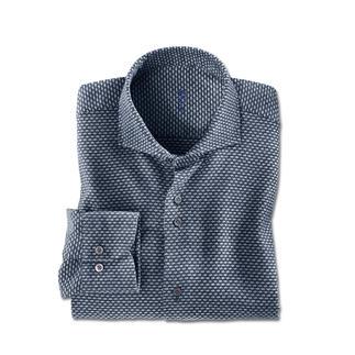 Dufour jaspé-winteroverhemd Een overhemd zo warm en comfortabel als uw lievelingstrui.