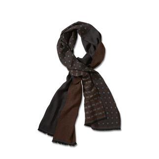 alpi motiefmix doubleface-sjaal Motiefmix – mooi ingetogen, bijzonder stijlvol en veelzijdig te combineren.