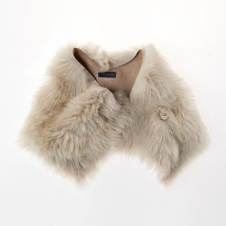 Strenesse lamsvachtkraag It-piece voor de winter: de lamsvachtkraag van Strenesse.