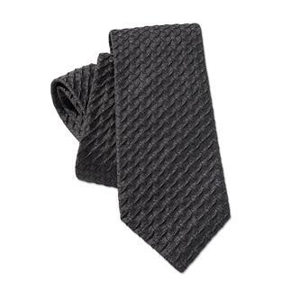 Ascot stropdas met reliëf Zo eenvoudig en toch zo bijzonder: de 3D-stropdas met kalanderreliëf. Van 100 % zijde. Met de hand gemaakt.