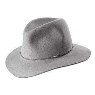 Hat Attack vilten fedora Flexibel. Slijtvast. En op een natuurlijke wijze waterafstotend.