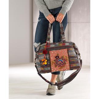 Smitten etno overnight-bag Combineert etno en ethiek op een mooie en duurzame manier.