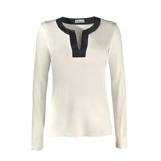 Zijden tuniekshirt Buitengewone luxe van 95% zijde: het chique basic-shirt met een wondermooie glans.