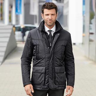 Geox functionele jas voor heren De 'ademende' functionele jas – met het gepatenteerde ventilatiesysteem van Geox. In Italiaans smal model.