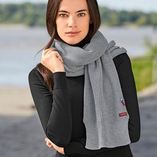 meinfrollein® basic merino-sjaal Eindelijk een eenvoudige basic sjaal van zuivere merinowol. In 3 kleuren. Voor haar en hem. Van meinfrollein®.