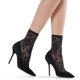 Oroblu nylon-sokjes met ornamenten Als u modieuze nylon-sokjes zoekt – kies dan deze van kousenspecialist Oroblu.