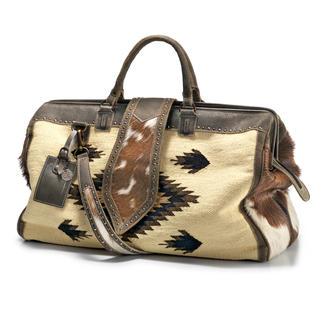 Kelim-reistas Het stijlvolle alternatief voor al die saaie reistassen. Van het Nederlandse etno-merk PH&T.
