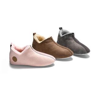 Shepherd dames- of herenpantoffels van lamsvacht De perfecte oplossing voor koude voeten: pantoffels van heerlijk zachte, superlichte lamsvacht.