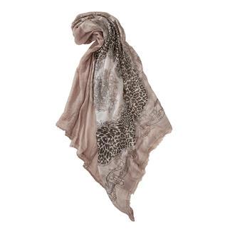 Plomo o Plata vierkante sjaal Bijzondere combinatie van de nieuwste trends en klassieke statements. De vierkante sjaal van Plomo o Plata.
