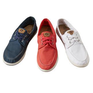 Sperry canvas-bootschoenen Van Sperry – officiële kledingleverancier van het Olympische zeilteam van de Verenigde Staten.