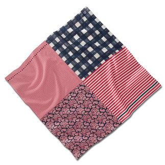 Veelzijdig sjaaltje Drie kleuren, vier motieven, ontelbare stylingmogelijkheden. Het meest veelzijdige sjaaltje in uw kledingkast.