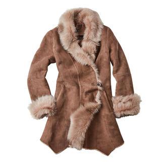 Wunderfell jas van merino-lamsvacht Exclusief design. Hoogwaardige lamsvacht van Europese origine, maar wel betaalbaar. van Wunderfell, München.