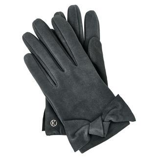 Chevreau-suède handschoen van Otto Kessler Voor een leren handschoen buitengewoon elegant. Voor de kwaliteit aantrekkelijk voordelig geprijsd.