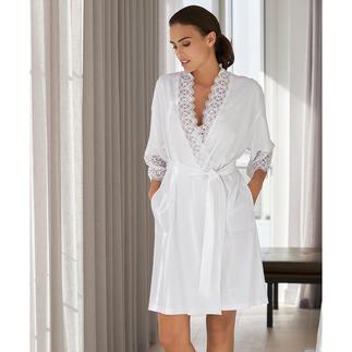 Rösch kimono met kant Elegante kimono met kant, van de Duitse nacht- en loungewear-specialist Rösch.