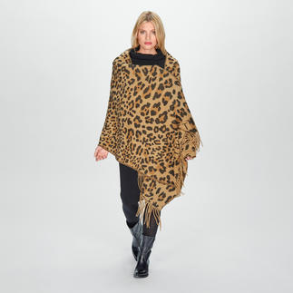 TWINSET leeuwensjaal Trendy ontwerp in klassiek elegante kleuren en royale maat. Mooier dan de meeste: de leeuwensjaal van TWINSET.