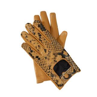 TWINSET handschoenen in python-look De om 2 redenen trendy handschoenen van TWINSET met praktische touchscreenfunctie.