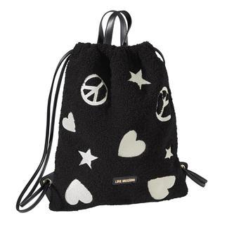 Love Moschino gym bag met imitatiebont Van de sportschool naar de catwalk – de gymtas is een echt mode-item geworden. Stijlvol, uniek en betaalbaar.