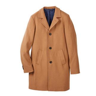 Mantel van kameelhaar Stijlvol als een chic colbert. Winterbestendig als een outdoor-parka.