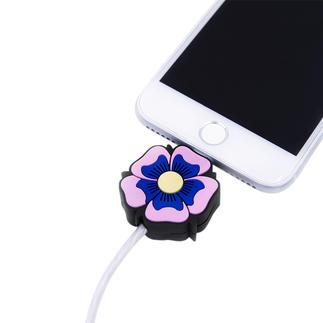 Led-oplaadkabel met motief, Flower Power Het perfecte cadeau voor alle Apple-fans: oplaadkabel met motief en lichteffect. Van Iphoria.