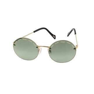 Joop! randloze zonnebril Trendtrio 2020: rond retromodel, randloos montuur en moderne, ultralichte veren. Van JOOP!.