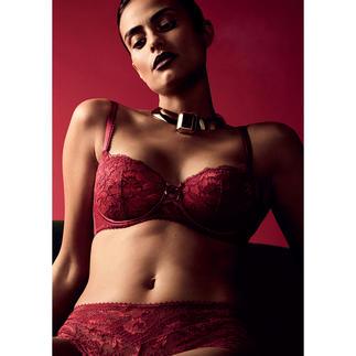 Aubade push-up-bh of hipster Rouge Amour Aube Amoureuse van Aubade: Parijse lingerie voor elke dag.