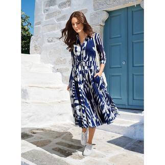 Samantha Sung jurk Nordic Ikat De elegante retrostijl van de jaren 40 en 50 – van de specialist Samantha Sung.